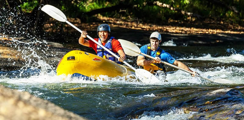 Rafting Free State in Claren